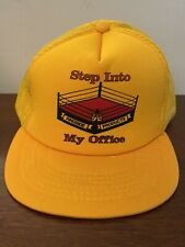 NEW NWOT Vintage 80s Boxing Hat - Ringside Products - Adult Trucker Snapback