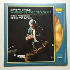 """Beethoven   Symphonies Nos.3 """"Eroica"""" & 7   PAL   LASERDISC still sealed"""