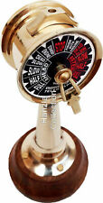 "6"" Antique Brass Ship's Engine Order Telegraph Nautical Decorative Collectible"