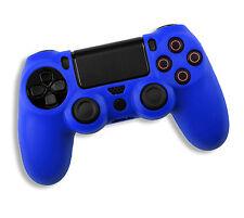 Playstation PS4 Dualshock 4 Controller Blue Silicone Gel Skin Grip Case UK