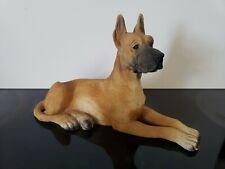GREAT DANE Dog Figurine Italy Made By Neno