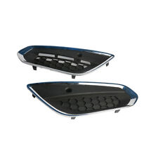 2X Front Lower Bumper Grilles Cover +Parking Assistance Hole For Volvo S60 2013