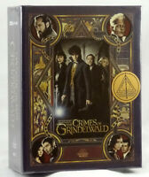 FANTASTIC BEASTS: THE CRIMES OF GRINDELWALD Blu-ray 4K Steelbook BLUFANS BOXSET