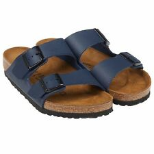 NEW Navy Birkenstock Arizona Birko 2 strap Sandals Euro 42 Ladies 11 Mens 9