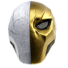 Unique Single Eye Silver Golden Protection Mask For Paintball Airsoft #892