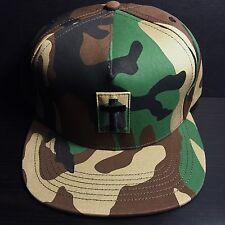 SUPREME CROSS MILITARY 5 PANEL SNAPBACK CAP HAT box logo