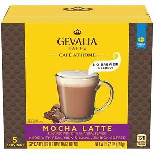 Gevalia Café at Home Instant Mocha Latte Coffee Kit 15 Kits 3 Packs of 5