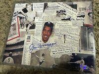 Authentic Joe Dimaggio Yankees Hand Signed Photo 8X10 COA