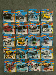 Hot Wheels Bundle Job Lot of 20 Vehicles - New on Cards - Joblot 1