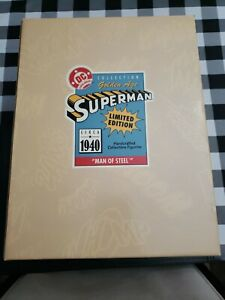 SUPERMAN DC SUPER HEROES COLLECTION GOLDEN AGE SUPERMAN MAN OF STEEL CIRCA 1940