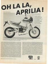 APRILIA TUAREG 600 Wind - Enduro --- alte Annonce - vintage advert --