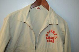 True Vintage 1950s Dan River Jacket Calumet Varsity Club sz Medium Michigan