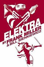 Elektra by Frank Miller Omnibus Collects #1-8 More HC Hard Cover New Sealed $100