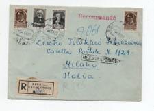 RUSSIA/LATVIA RIGA 9/4/1958 REGISTRED COVER TO MILAN
