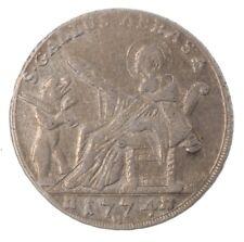 Schweiz 20 Kreuzer 1774 St. Gallen Abtei Beda Angehrn von Hagenwil
