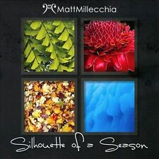 MATT MILLECCHIA - SILHOUETTE OF A SEASON - 12 TRACK MUSIC CD - LIKE NEW - E689