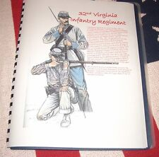Civil War History of the 32nd Virginia Infantry Regiment