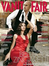 VANITY FAIR=N°20 2008=MONICA BELLUCCI E LUCA ZINGARETTI=ALESSANDRA MARTINES