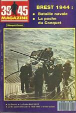 39-45 MAGAZINE N° 43 : POCHE DU CONQUET - FOCKE WULF 190 - BREST 1944 - SEXTON