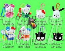 PICNIC HELLO KITTY clip-on toy/figure #2 HELLO KITTY McD/Sanrio (2001) *NIOP