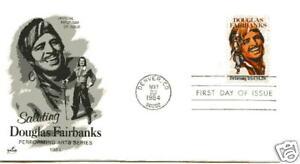 2088  Douglas Fairbanks, Performing Arts, ArtCraft FDC