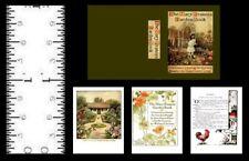 1:12 SCALE MINIATURE BOOK THE MARY FRANCES GARDEN BOOK