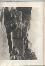 1947 Underwriters Report on Pumping Unit w/ Photo of Sonoma CA Fire truck
