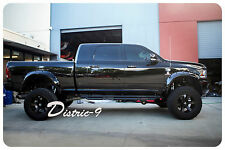 """DODGE RAM 2009-2017 5"""" WIDE JUNGLE FLARE/WILD GUARD FLARES FRONT AND REAR SET"""