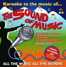 KARAOKE - KARAOKE TO THE SOUND OF MUSIC/MARY POPPINS NEW CD