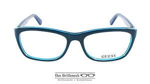 Original Guess Brillenfassung GU 2510 Farbe 096 blau türkis