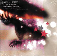 DURAN DURAN Notorious & Ordinary World RARE VH1 Live SEALED Promo CD