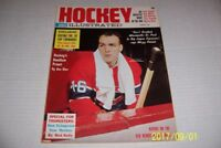 1964 Hockey Illustrated Montreal CANADIANS Henri RICHARD Jean BELIVEAU Mikita