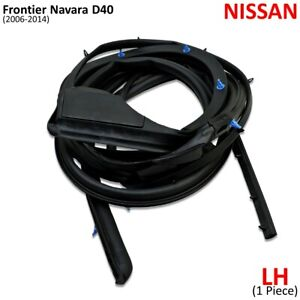 Fits Nissan Frontier Navara D40 2006 14 Rear Left Weatherstrip Rubber