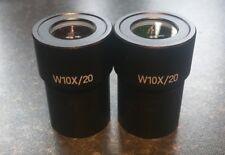 Ceti WF10X/20 Oculare COPPIA stereo microscopio di alta qualità