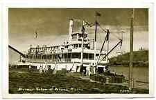 """Steamer Yukon. Nenana, Alaska"" Cann;s Studio, Fairbanks, Alaska, Ekc 1930/1950"