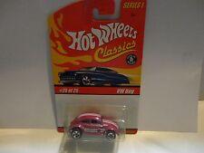 Hot Wheels Classics Series 1 #25 Pink VW Bug