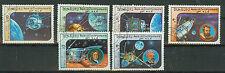 Briefmarken Laos 1984 Raumfahrt Mi.Nr.766-71