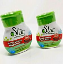 Stur Liquid Water Enhancer Freshly Fruit Punch (2) 1.62 Ounce Squeeze Bottles...