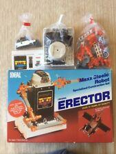 Vintage IDEAL Original Erector Maxx Steele Robot Specialized Construction Set