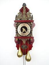Zaanse Dutch BIG Wall Clock Vintage Antique (Warmink WUBA Hermle Junghans Era)