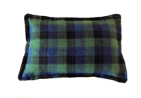 Green Plaid Microwave Corn Bag 5 LBS Relief-Hot Large Heat pack or Cooling pad
