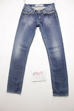 Take two peg (Cod.J508) Tg.42 W28 L34 boyfriend jeans usato donna