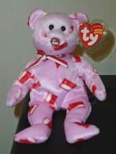 Ty Beanie Baby ~ MAJU the FLAG NOSE Bear (Singapore Exclusive) MWMT
