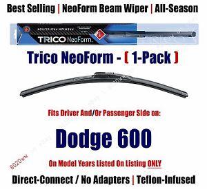 Super Premium NeoForm Wiper Blade (Qty 1) fits 1983-1988 Dodge 600 16160
