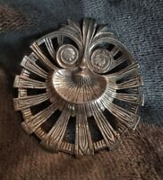 Vintage Miracle tribal ethnic statement Brooch