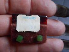 Vintage Folwers Green Square Errings