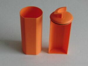 Original Jacobs Kaffepaddose Kaffeepadspender mit Lifter in orange NEU