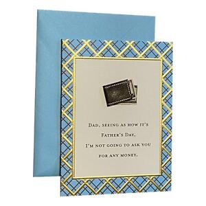 Father's Day Greeting Card - Dad, seeing as how it's Father's Day, I'm not going