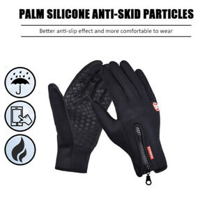 Unisex Waterproof Touchscreen Gloves Winter Warm Sports Cycling Hiking Outdoor