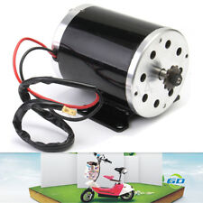 500W 24V DC Electric Brush Motor ZY1020 For DIY Electric Scooter E Bike Go Kart